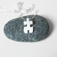 jigsaw puzzle necklace version No.2