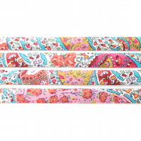 Bourton E - colourful Liberty fabric bias binding, haberdashery supplies