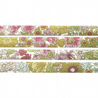 Margaret Annie D - Liberty fabric bias binding, haberdashery supplies