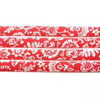 Claire and Emily B - Liberty fabric bias binding, haberdashery supplies