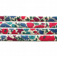 Poppy and Daisy N - Liberty fabric bias binding, haberdashery supplies