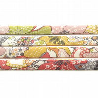 Mauvey A - Liberty fabric bias binding