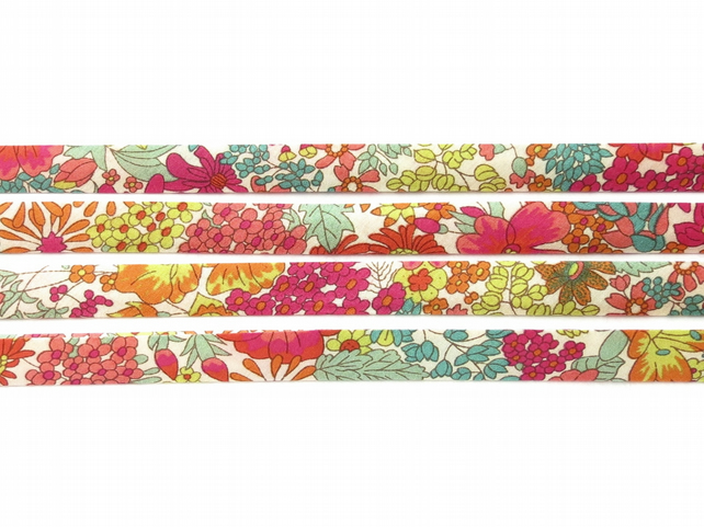 Margaret Annie B - Liberty fabric bias binding, haberdashery supplies