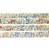 Katie and Millie A - Liberty fabric bias binding, haberdashery supplies