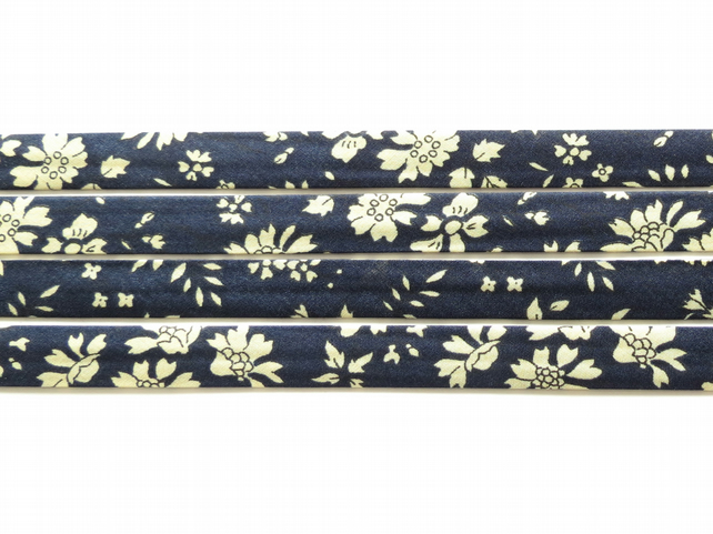 Capel J - Liberty fabric bias binding, sewing shop