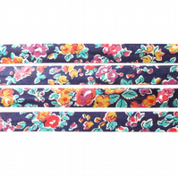 Tatum J - Liberty fabric bias binding, haberdashery supplies