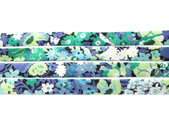 Thorpe S - Liberty fabric bias binding, haberdashery supplies
