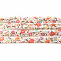 Le Temps Viendra A - Liberty fabric bias binding, sewing supplies
