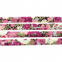 Thorpe B - Liberty fabric bias binding, haberdashery supplies
