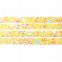 Kayoko C - Liberty fabric bias binding, sewing supplies
