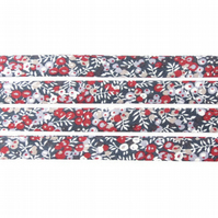 Wilmslow Berry D - Liberty fabric bias binding, fabric trim, haberdashery