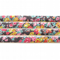 Tatum M - Liberty fabric bias binding, haberdashery supplies