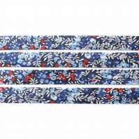 Wilmslow Berry B - Liberty fabric bias binding, fabric trim, haberdashery