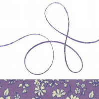 Capel V - Liberty fabric spaghetti cord, jewellery making