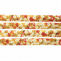 Mitsi Valeria B - Liberty fabric bias binding, sewing supplies, fabric trim