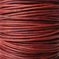 5xm country red leather cord in 2mm, jewellery cord for bracelets
