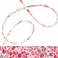 Phoebe H - Liberty fabric spaghetti cord, jewellery making