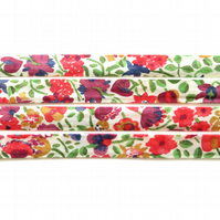 Kaylie Sunshine A - Liberty fabric bias binding