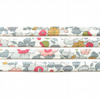 Betsy P - colourful Liberty fabric bias binding, fabric trim