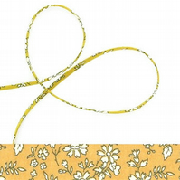 Capel X - Liberty fabric spaghetti cord, jewellery making