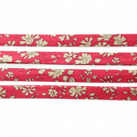 Capel F - Liberty fabric bias binding, 10cm wide