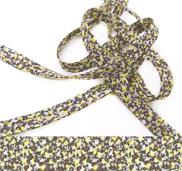 Pepper W - Liberty fabric bias binding, haberdashery sewing shop