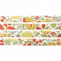 D' Anjo B - Liberty fabric bias binding