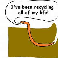 I have been  recycling all my life