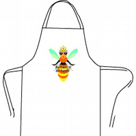 QUEEN BEE APRON