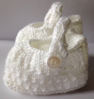 Baby booties, pram shoes, crib shoes