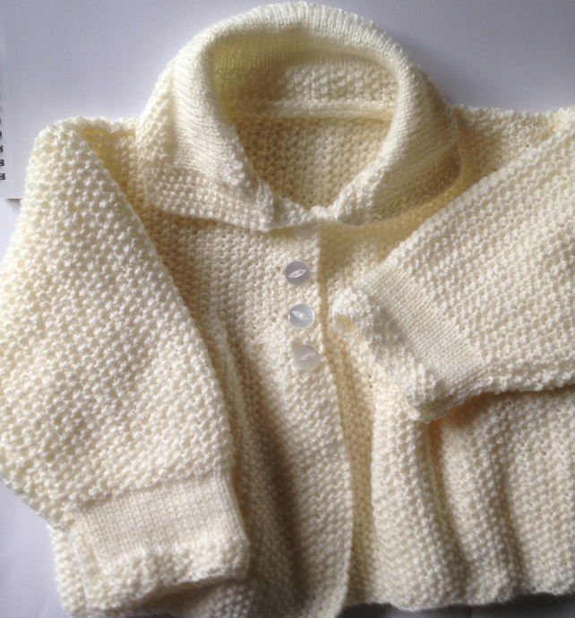 3-9 months knitted jacket
