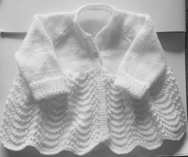 3-6 months knitted cardigan