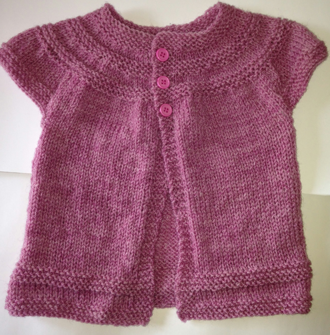 1-2 years short sleeve cardigan