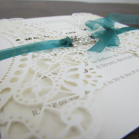 Doliy Invitation laser cut