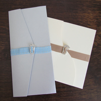 Christening Pockfold Invitations