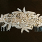large beaded hair comb