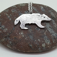 Badger Pendant (NOW RESERVED)