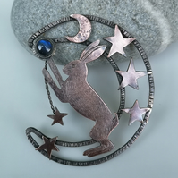Copper Star Maker Hare (RESERVED for Helen, thank you)