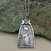 Church Hare Pendant (reduced)