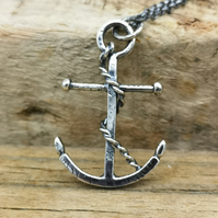 Hold Strong Anchor Pendant