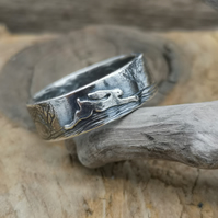 Hare Ring  UK Size T
