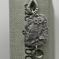 Little Owl with Moon Charm Bookmark