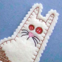 Cat Bookmark ©