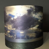 A beautiful silk lampshade - October