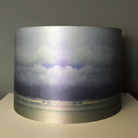 A beautiful silk lampshade - April