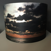 A beautiful silk lampshade - January
