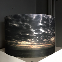 A beautiful silk lampshade - January 2