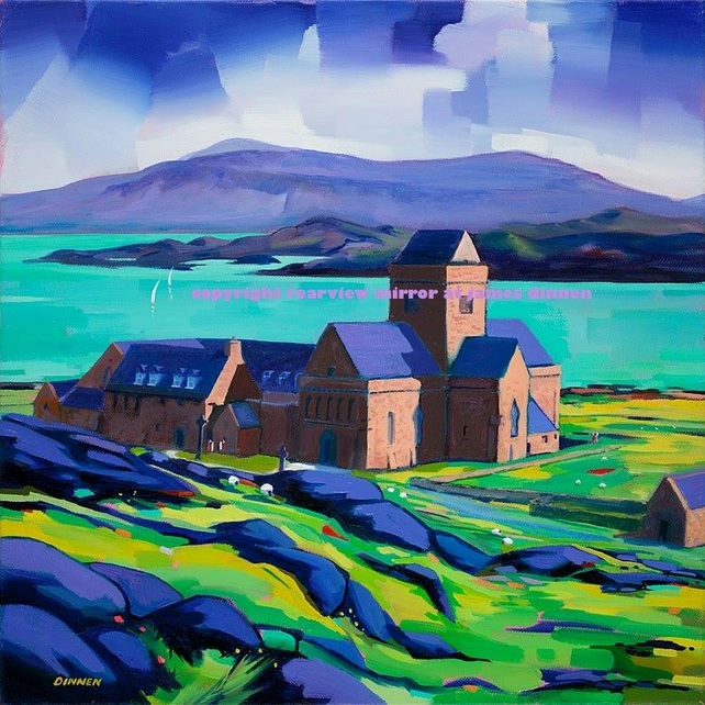Iona Abbey (Free UK postage)