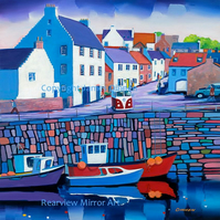 Crail Harbour  ( Fife , Scotland)  (Free PP UK)