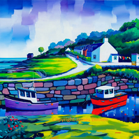 Corrie ,  Arran   extre large (free postage)